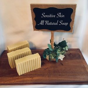 handcrafted Other - Bastille Organic Baby or Sensitive Skin Soap